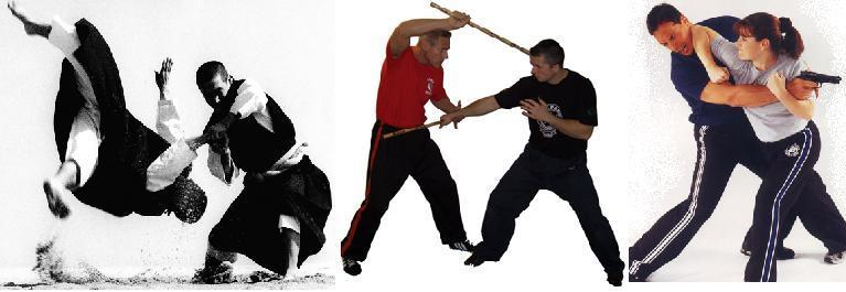 Curso Clases Gratis Defensa Personal Artes Marciales karate judo aikido Kung Fu Ninja Samurai