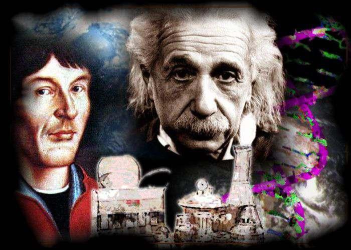 Grandes Personajes de la Ciencias Newton Einstein Arquimides Galileo