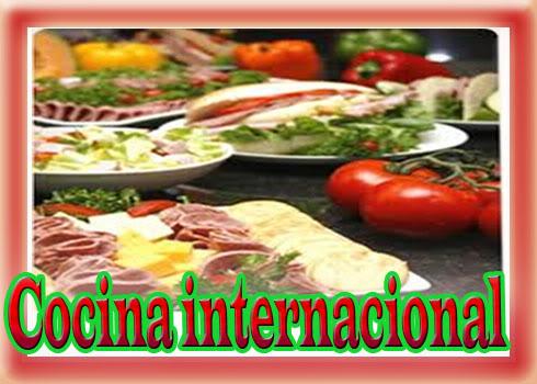 Curso Gratis de Cocina Internacional con Certificado y Diploma