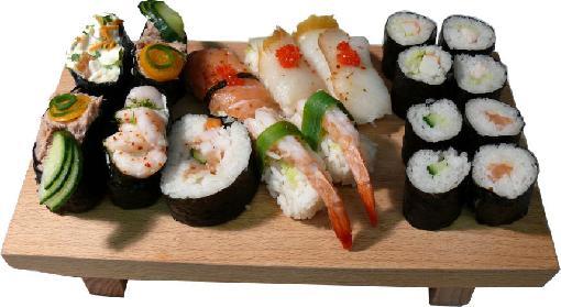 Curso de Comida Tipica Japon Sushi