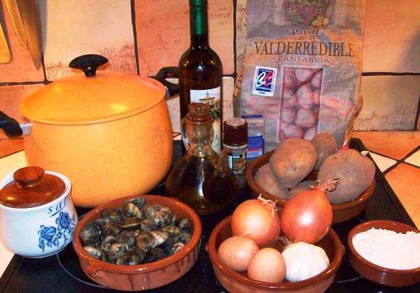 Curso gratis cocina general basica patatas almejas