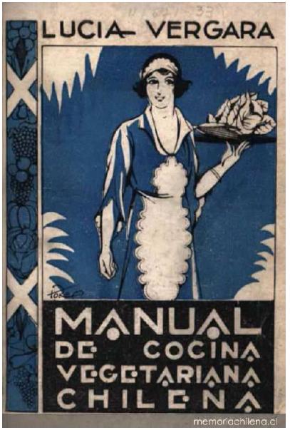 Manual de Cocina Vegetariana Chilena