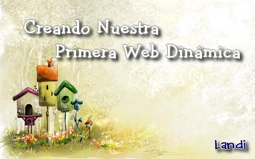 Creando una web dinamica