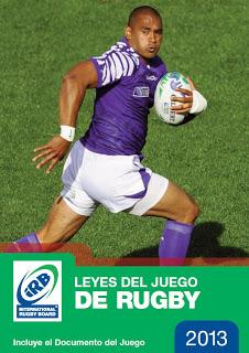 Portada reglamento rugby