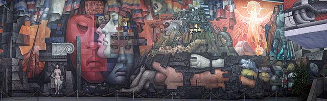 Mural panoramico Pinacoteca Universidad de Concepcion