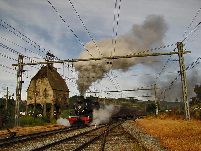 Trenes San Rosendo Chile