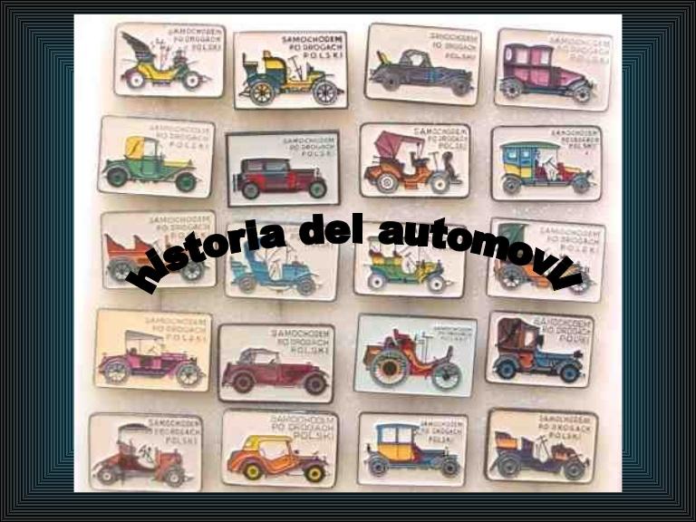 Curso de historia del Automovil