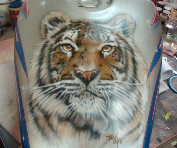 aerografia tigre