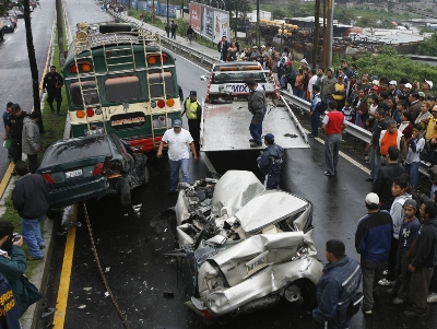 Fotos de accidentes de carros