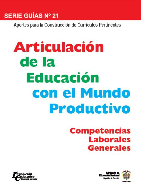 Curso de competencias laborales generales curriculum pertinente