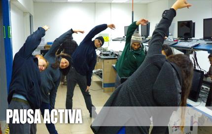 Curso Pausa Activa - Gimnasia en la Oficina = Mayor Rendimiento Laboral