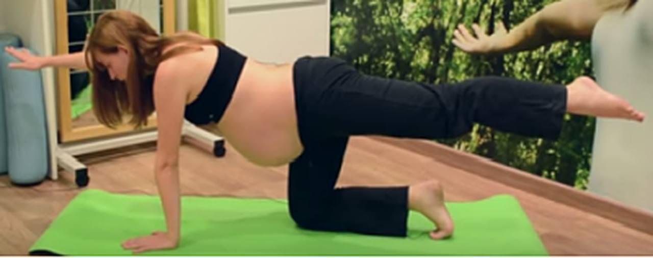 Curso de ejercicios para embarazadas