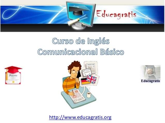 Curso de Ingles Comunicacional Basico