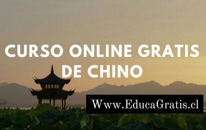 Curso online gratis de Chino