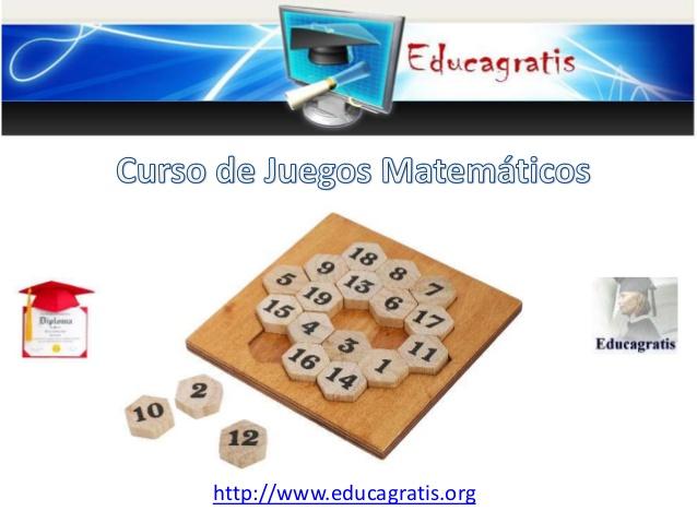 curso de juegos matemticos