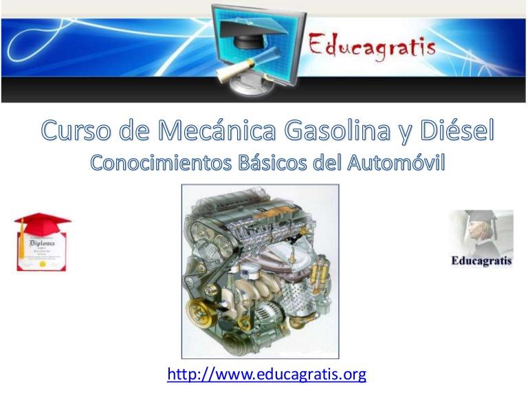 Curso de Mecánica Gasolina y Diesel