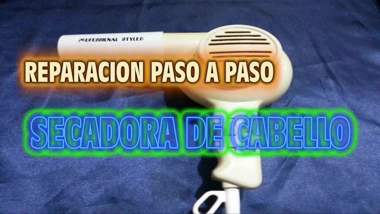 Reparacion de secadora de Cabello