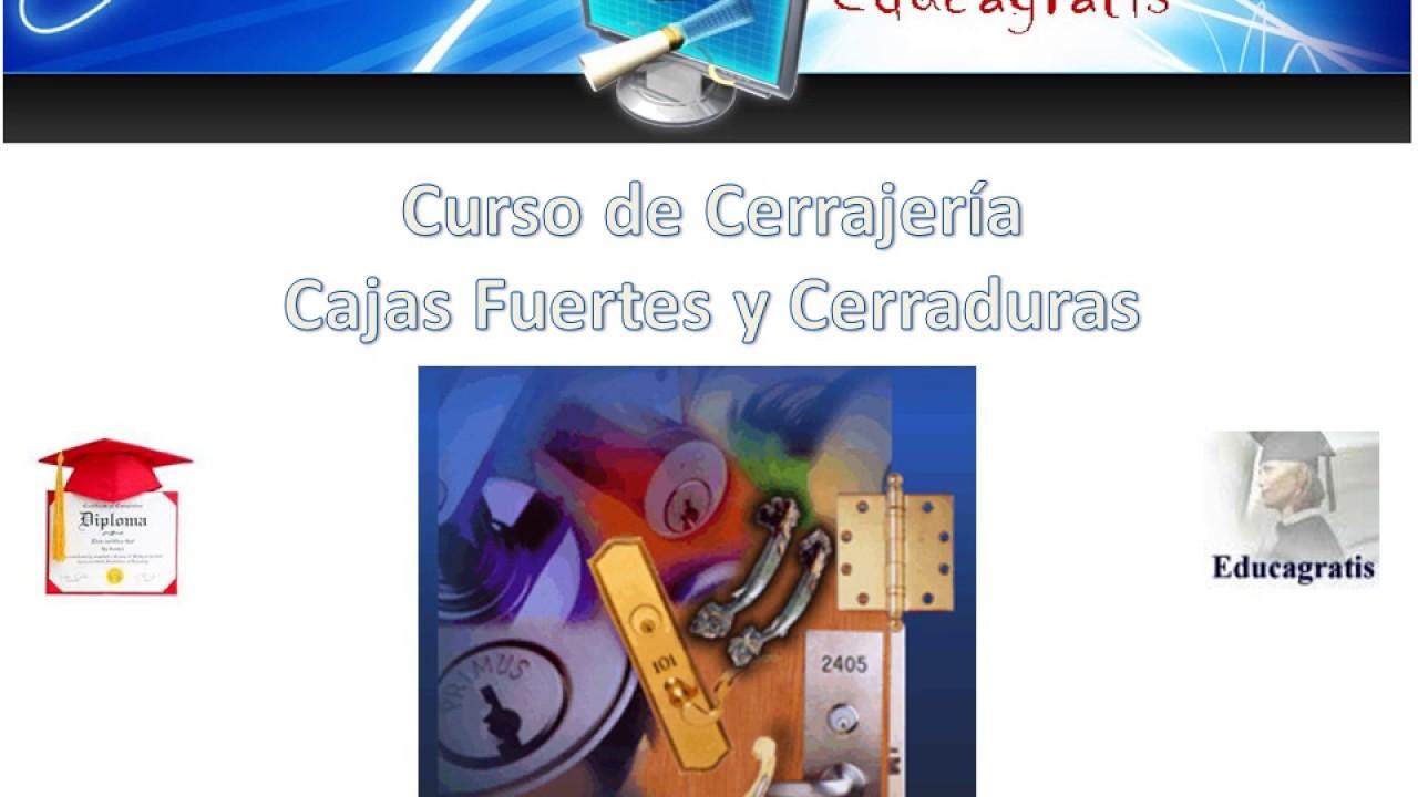Curso Cerajeria y Cajas Fuertes