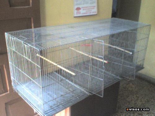 jaula voladora especial para canarios