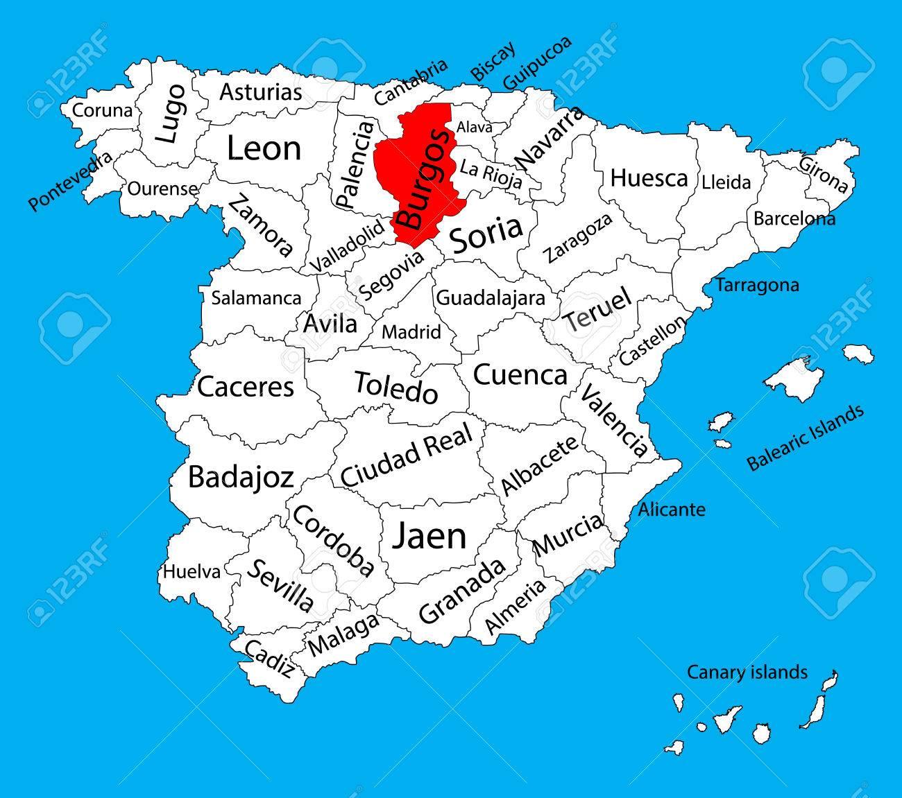 Mapa-burgos-Curso-online-para-conocer-España