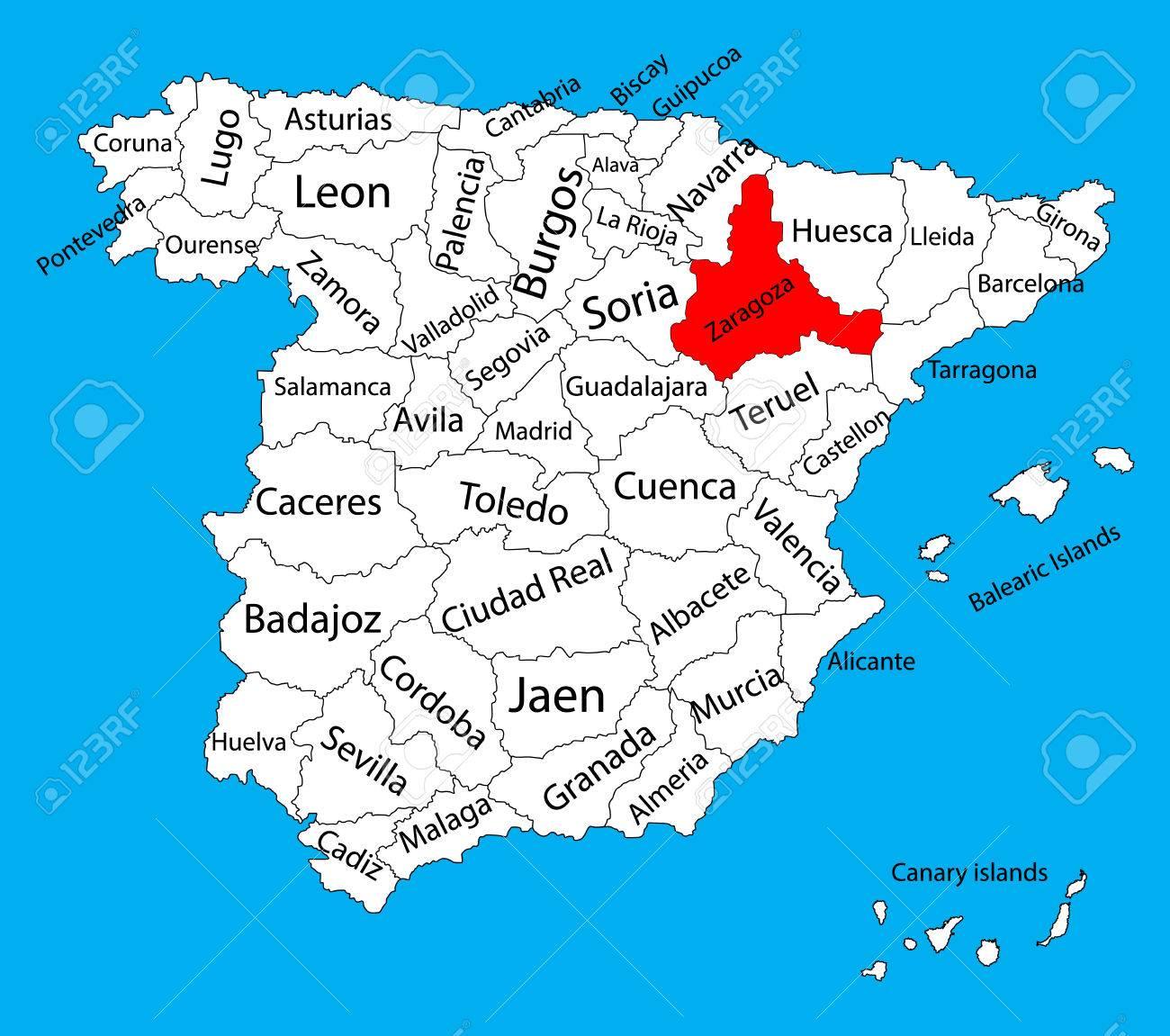 Mapa-zaragoza-mapa-españa-en-Curso-online-gratis