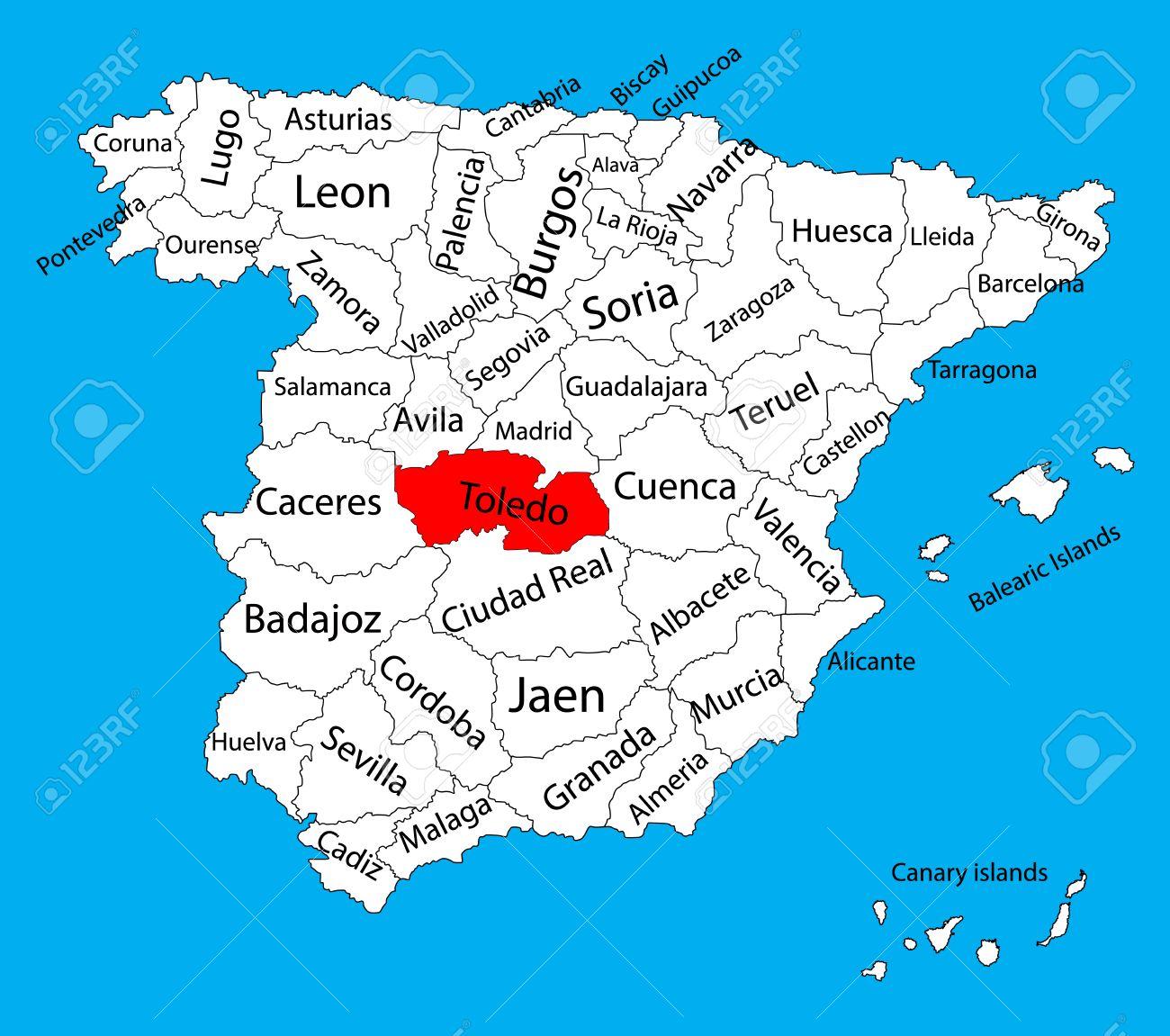 mapa-de-toledo-en-Curso-Online-para-conocer-España