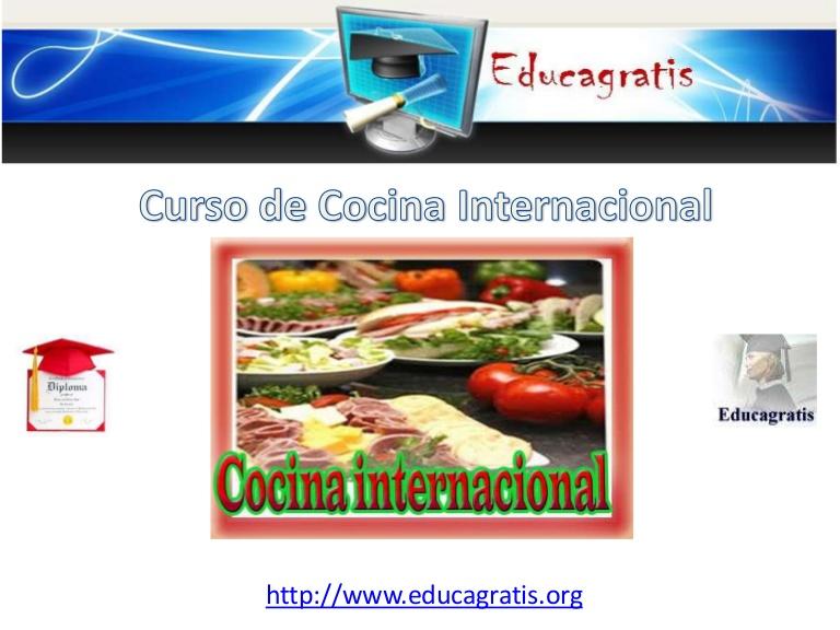 Curso de Cocina Internacinal