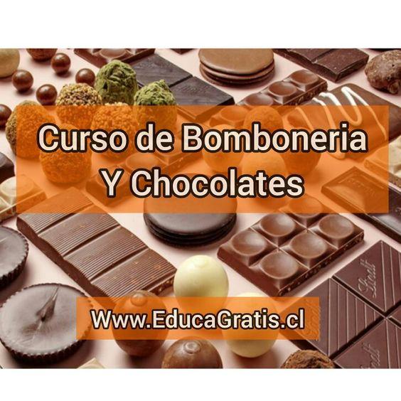 Curso de Bombonería y Chocolates