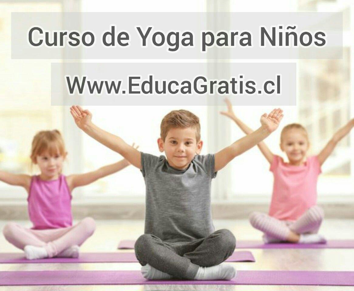 Curso de Yoga para Niños y Escolares