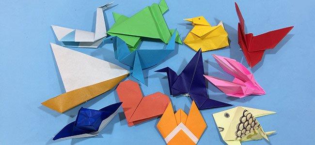 figuras origami