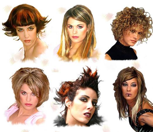 Curso de corte de pelo mujer